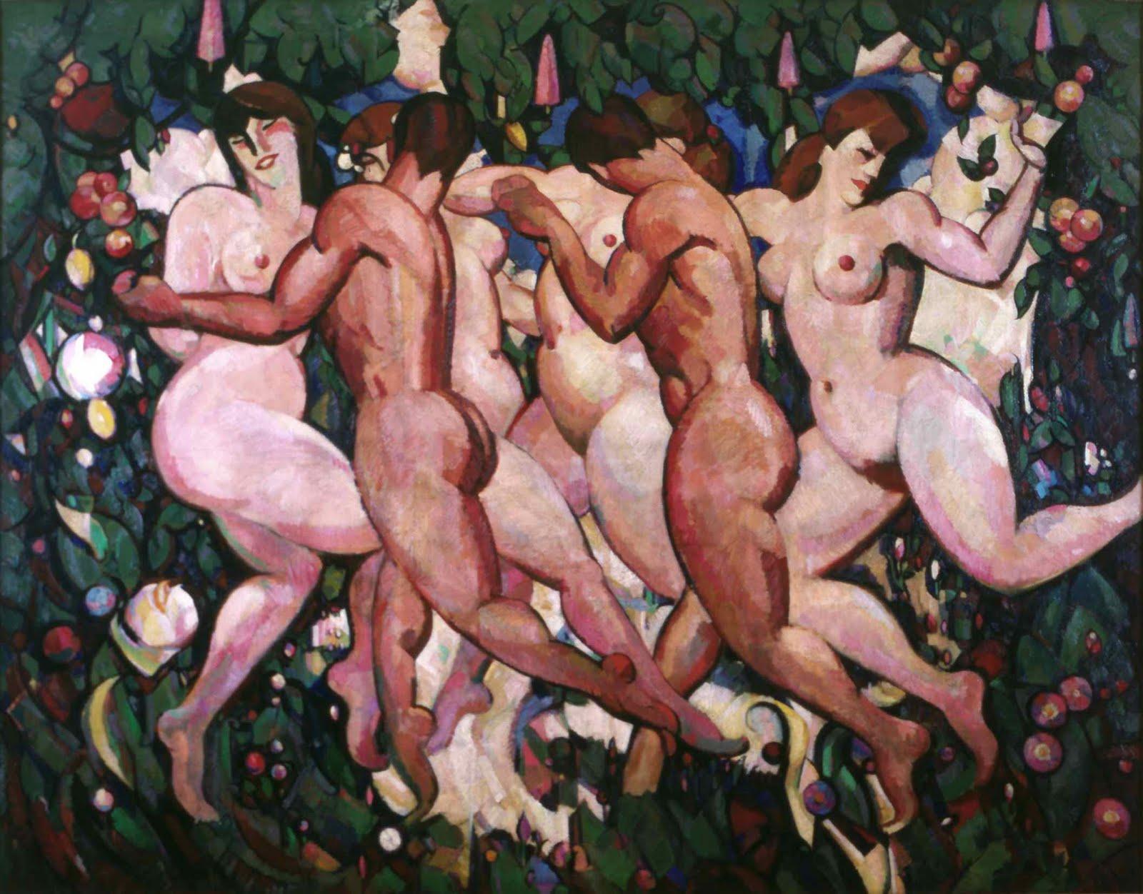 J.D. Ferguson, 'Les Eus' (c. 1910)