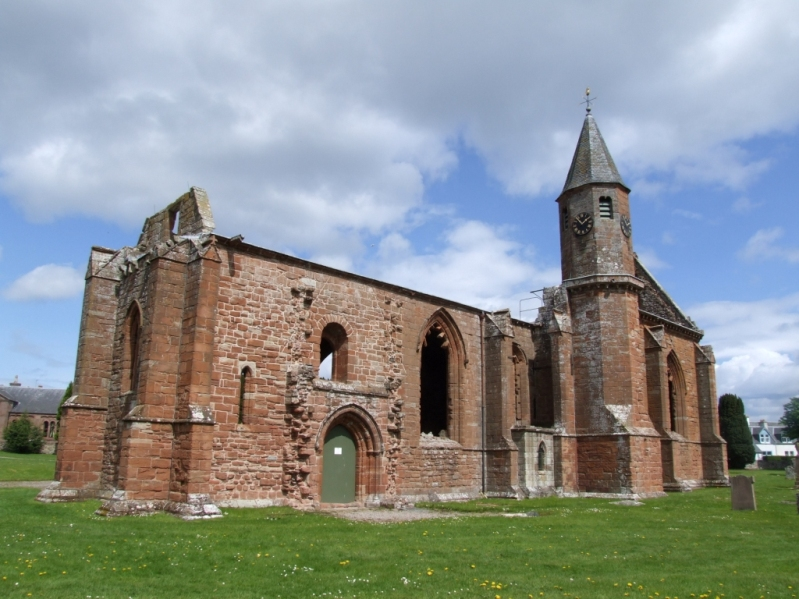 Fortrose Cathedral in Ross
