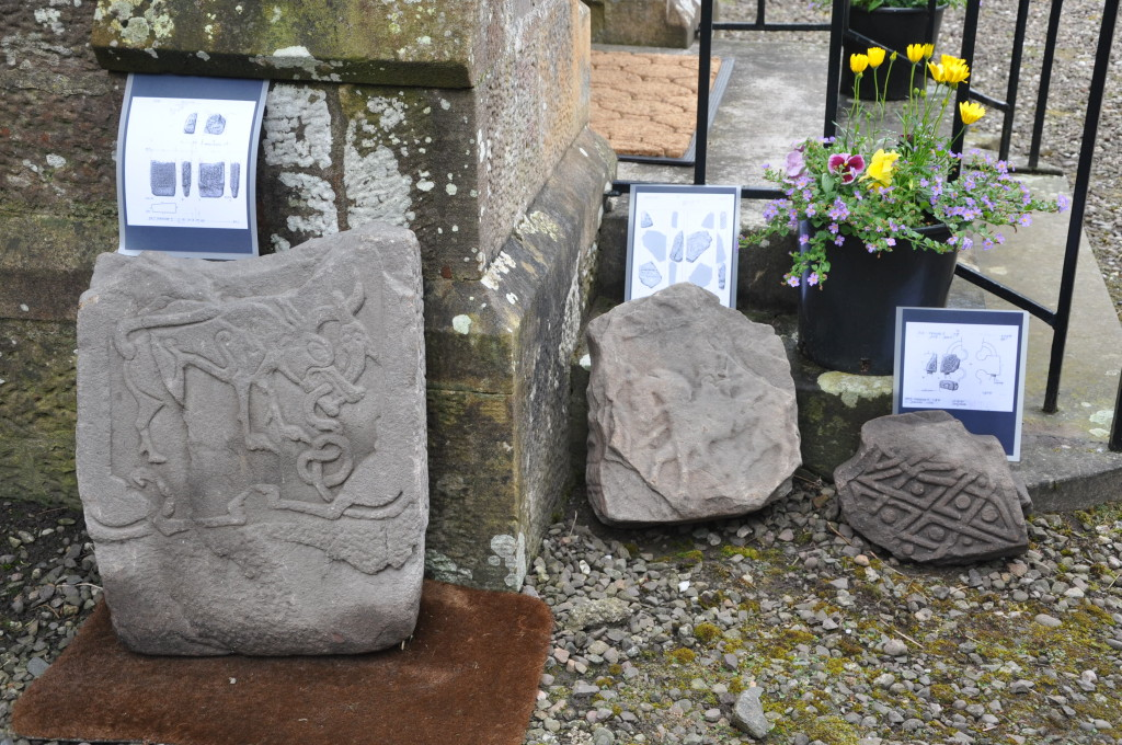 Pictish Stones with interpretation.