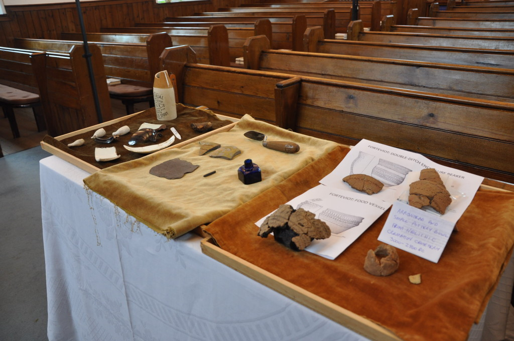 A selection of artifacts.
