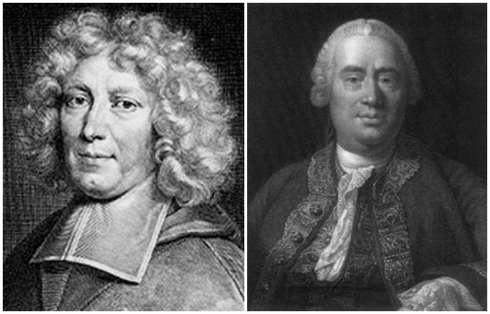 Pierre Daniel Huet (1630-1721) and David Hume (1711-1776)