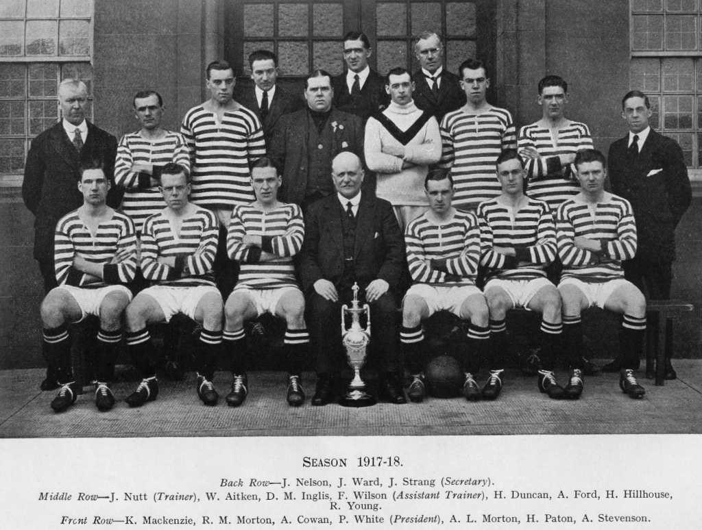 Queen's Park F.C. in 1917-8