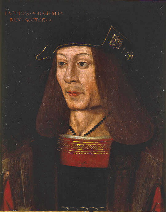 Portrait of James IV (1473-1513), William Dunbar's patron. National Galleries Scotland.
